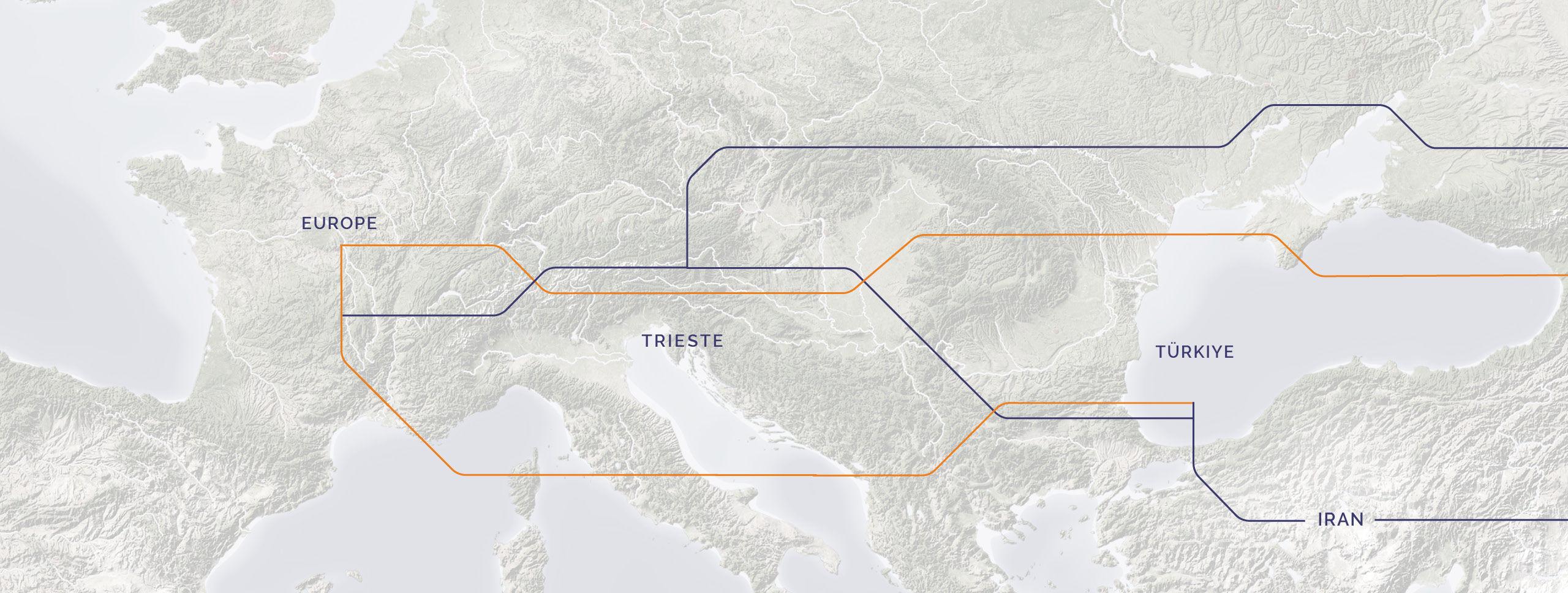 Intermodal Karte